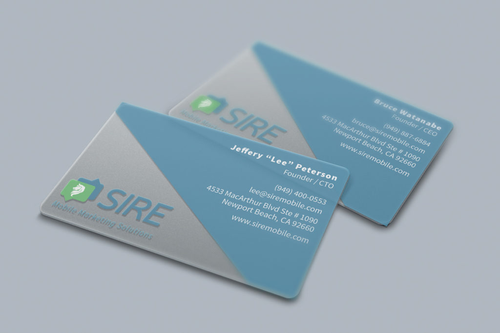 SIRE Business Cards – Jennifer Wang